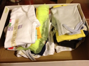 Clothes, six to eighteen months