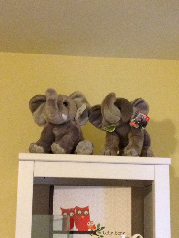 elephants from Grandmas